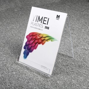 Acrylic Clear Magazine Brochure Book Holder for Advertising