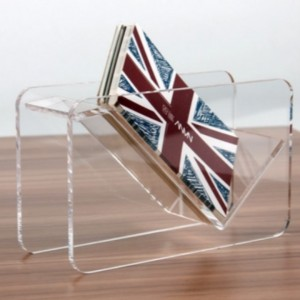Acrylic Name Card Storage Holder Case