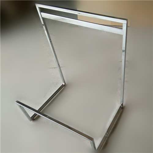 Chrome counter top stand