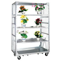 Wire Mesh Greenhouse Cart