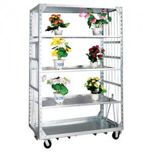 4 Tier Flower Trolley